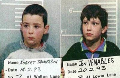 les gamins tueurs de liverpool ( Jon Venables et Robert Thompson )