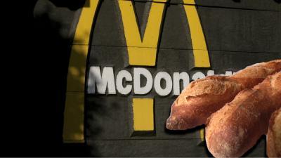 Bientôt au McDonald's sandwich 100% baguette