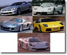 News Les 5 voitures les plus rapides du monde