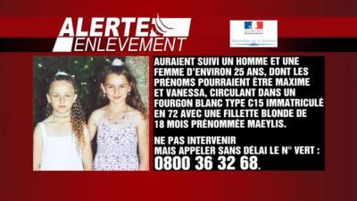 Fillettes disparues à La Flèche le plan alerte-enlèvement déclenché