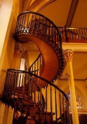 L'escalier mystérieux de La Chapelle Loretto