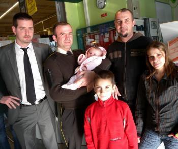 Un vigile sauve un bébé de deux mois de la mort subite
