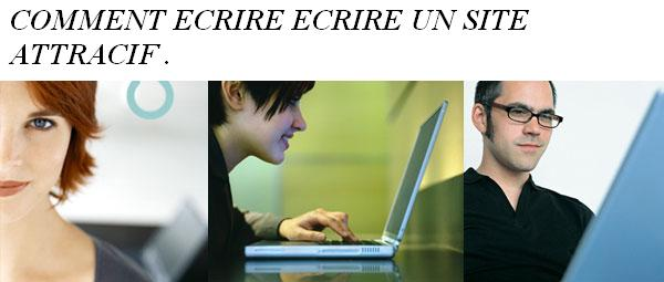 comment ecrire un site attractif avec plus de 600 generateurs web