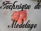 TECHNIQUE DE MODELAGE
