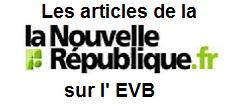 Articles de la Nouvelle République sur l'EVB