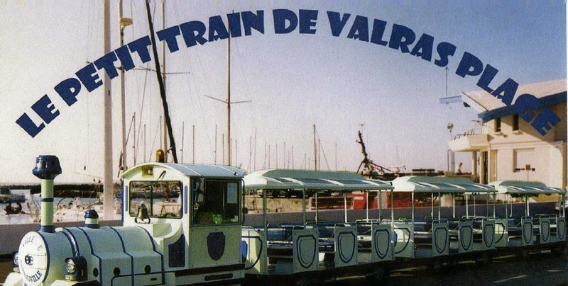le petit train de Valras