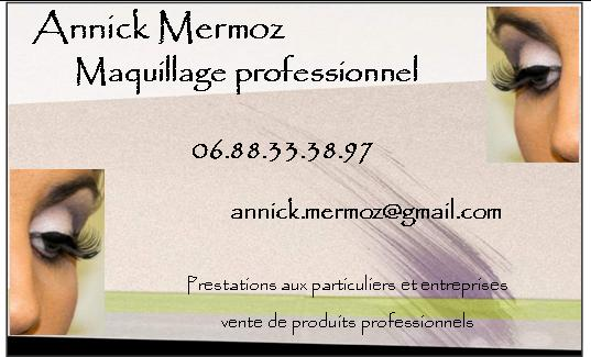 Tres Annick Mermoz Maquillage Professionnel RS36