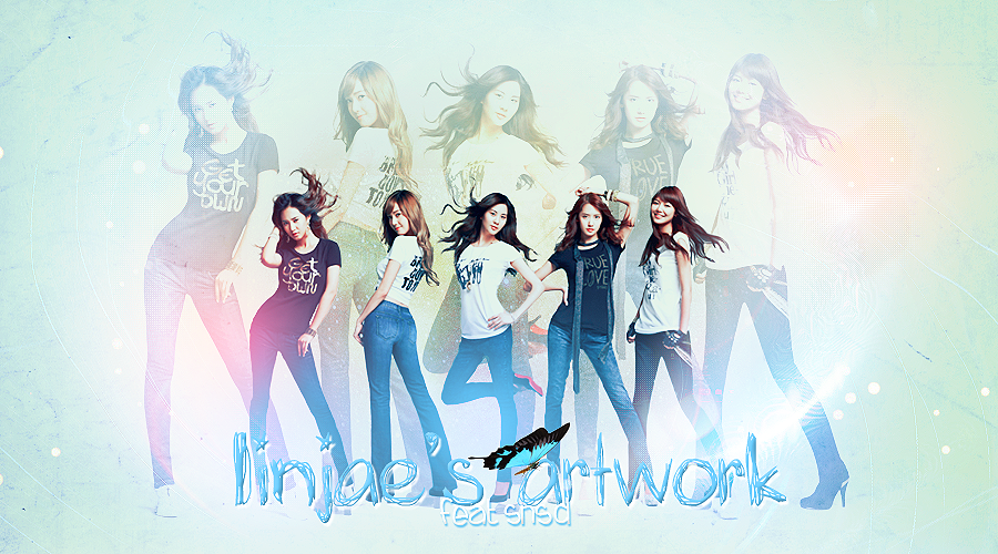 } linjae's artwork . V E R S I O N 3 feat pretty SNSD