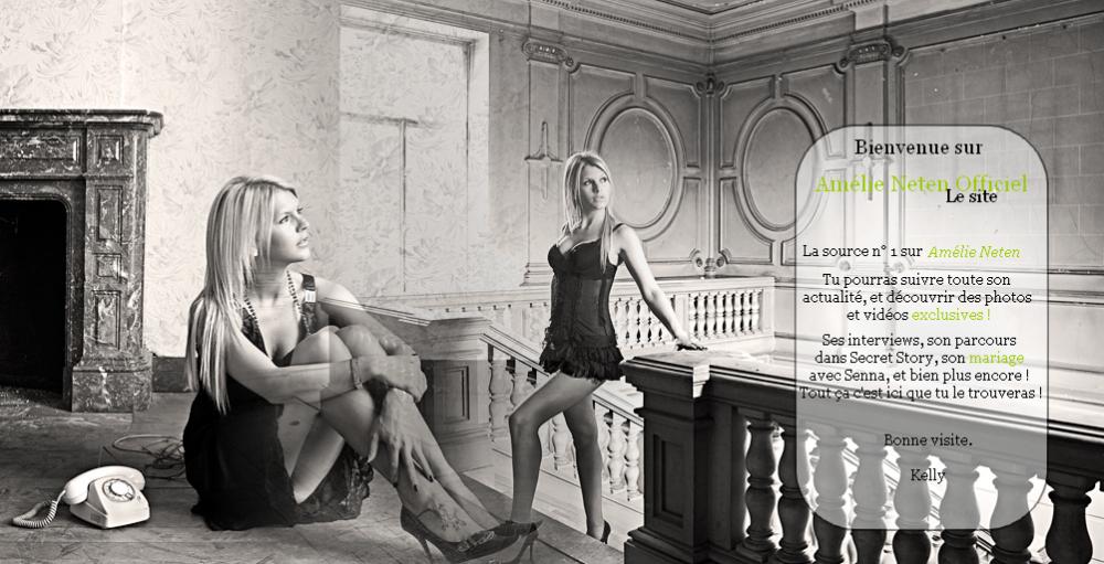 Site officiel d'Amélie-Neten
