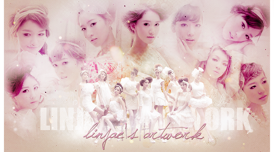 } linjae's artwork. V E R S I O N 9 & beautiful SNSD