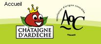 Les châtaignes d'Ardèche