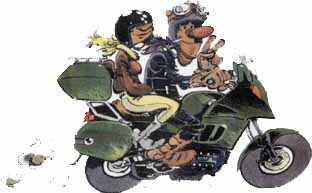 Roadbook moto - Dessin motard humoristique ...