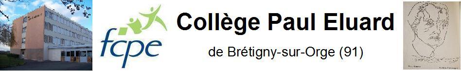 FCPE du Collège Paul Eluard de Brétigny-sur-Orge