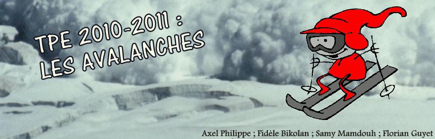 TPE: Les Avalanches