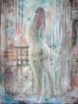 Peintures à l'huile, nus