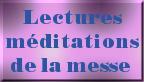 Lectures de la sainte messe