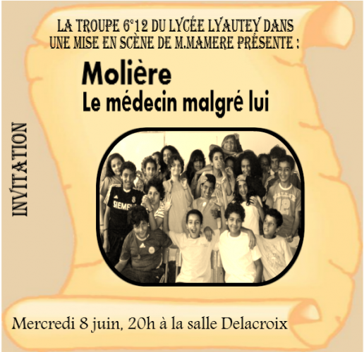 Molière : Le médecin malgré lui