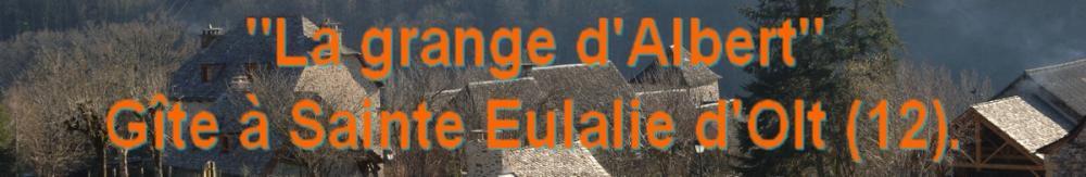 Gîte à Sainte Eulalie d'Olt, Aveyron.
