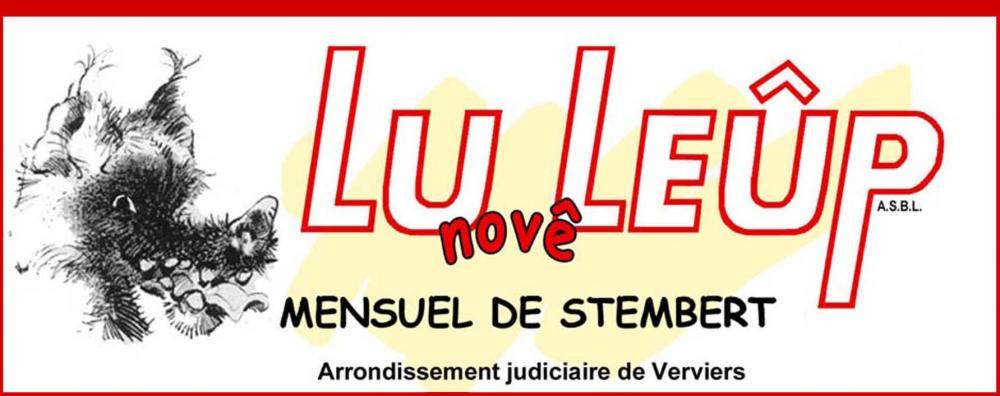 LU novê LEÛP, mensuel de Stembert