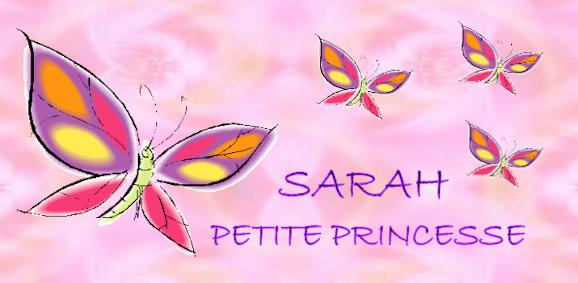 sarah petite princesse