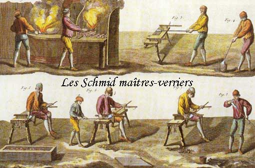 Les Schmid verriers