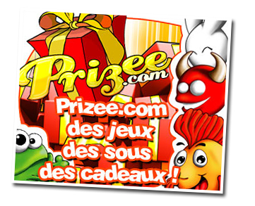 Prizee - Získejte dárky za hraní flashových her zdarma