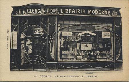 Librairie Clergue