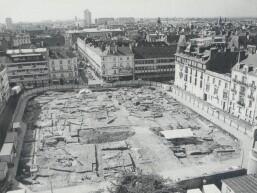 fouilles place Hoche - Rennes