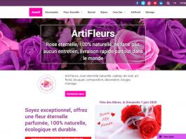 Artifleurs, roses éternelles artificielles