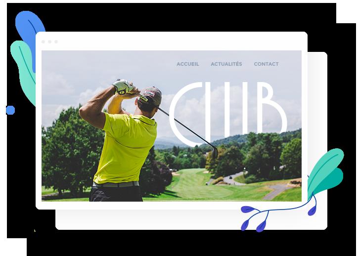 Créer un site de club sportif