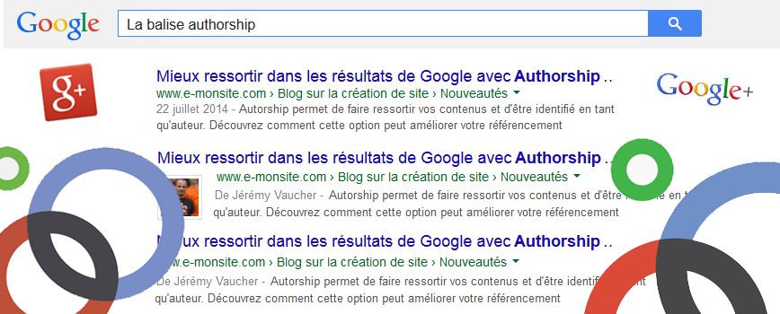 Authorship avec Google+