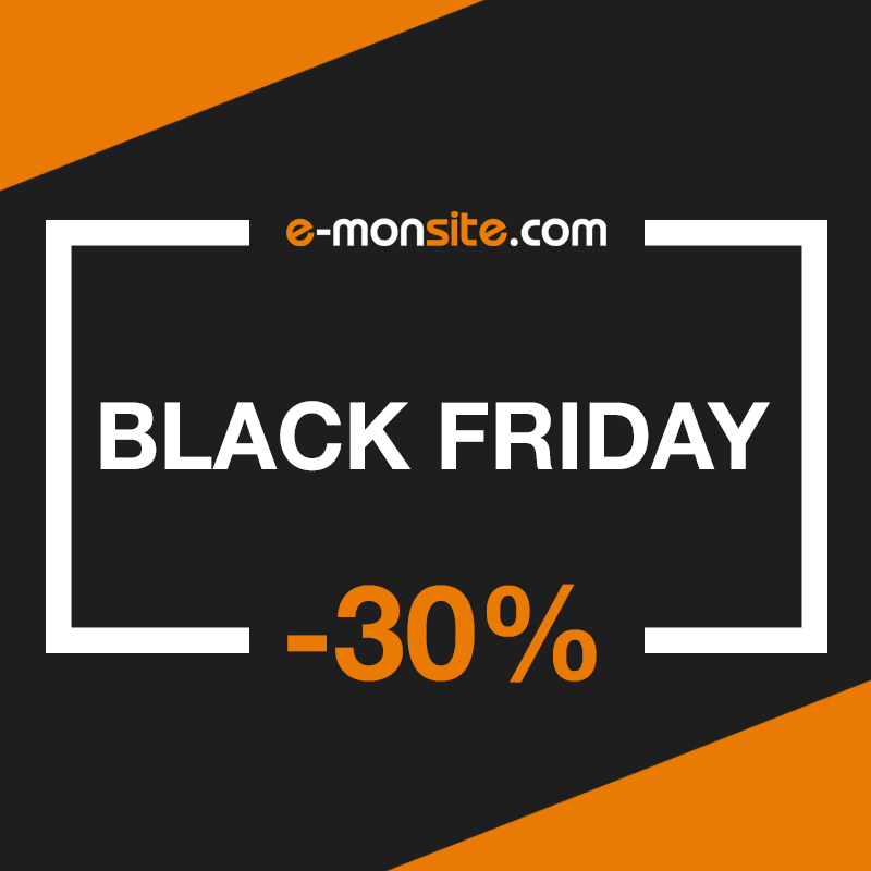 Black friday 30% chez e-monsite