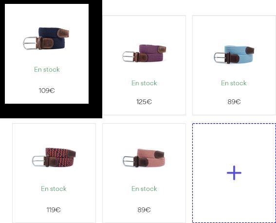 Créer un catalogue produit
