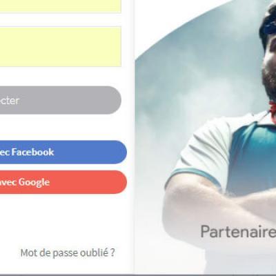 Connexion avec google et facebook