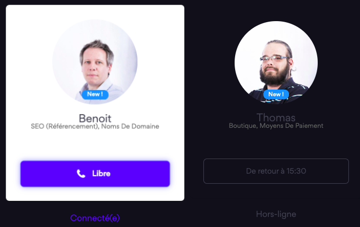 Conseillers support telephonique emonsite