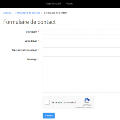 Contact gerer les structures