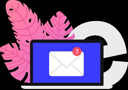 Créer des mails avec e-monsite