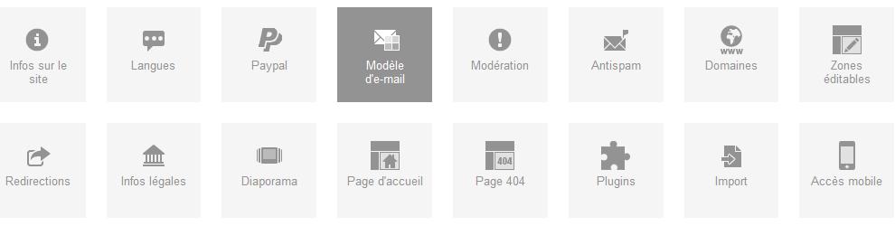 Un nouveau modèle de mail à venir