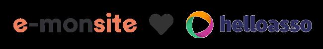 e-monsite en partenariat avec HelloAsso