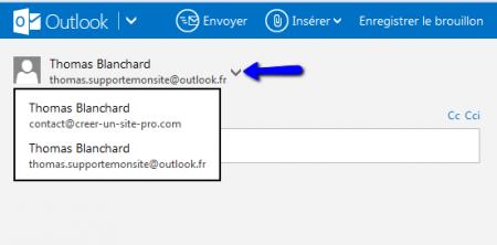 Envoyez maintenant un message avec votre compte POP sur Outlook