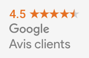 Google avis clients badge