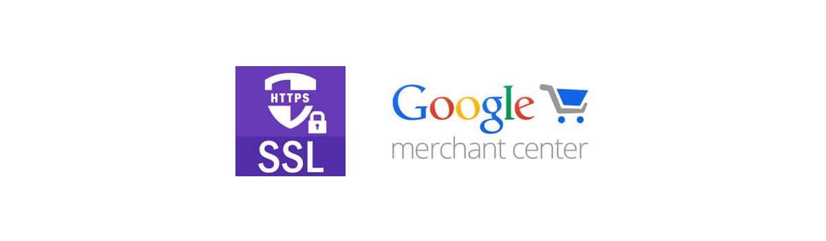 Google shopping ssl