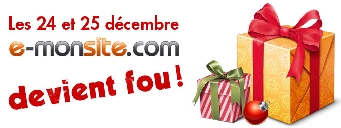 Promotion sur e-monsite