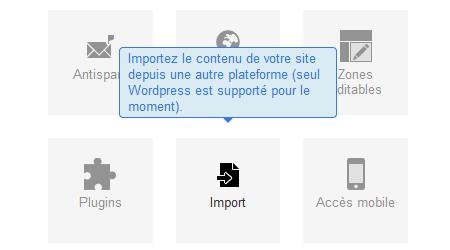 Importer un blog existant sur E-monsite (depuis Wordpress)