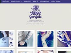 La rose a Georgette, tatouages éphémères