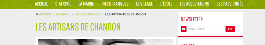 Mairie de Chandon
