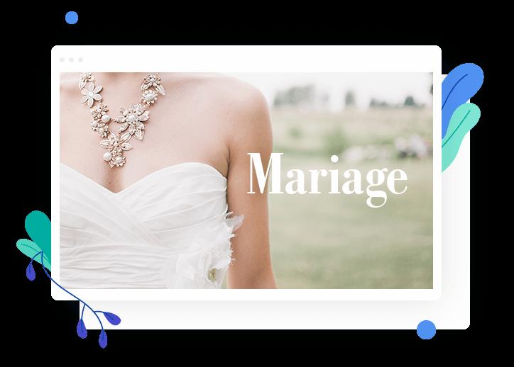 Créer un site de mariage