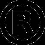 Signification du symbole R entouré