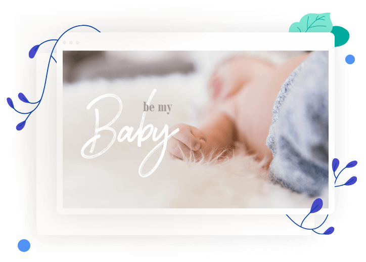 Crear una página para un nacimiento