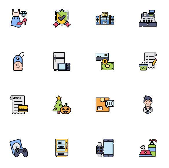Pack icons